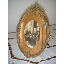 Portarretratos De Mesa - Francia - 12 X17 - Antiguo
