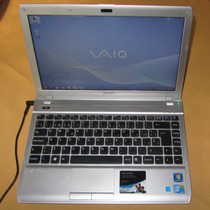 Notebook Sony Vaio Vpcy11s1e Intel 13,3 4gb Ram 1.78 Kg