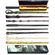 Varita Harry Potter + Estuche Hermione Sauco Dumbledore