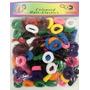 Colitas Para Niñas Pq De 100un Colores Surt/negro Y Blanco