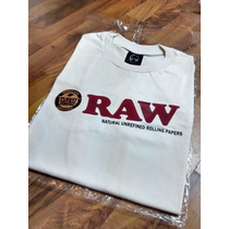 Remeras Raw Unbleached Paper Talles Sedas - Boom Clap Olivos