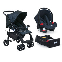 Carrinho Bebe Travel System Burigotto At6 Netuno + Base