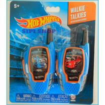 Walkie Talkies Hot Wheels Intercomunicadores 50 Mts Alcance