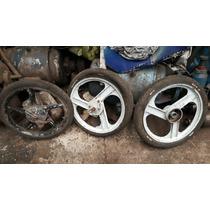Ruedas Ciclomotor Rodado 16 Se Venden Las 3