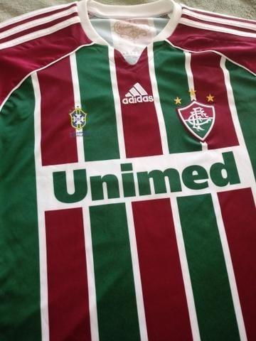 768a089688 Camisa Fluminense adidas 2011 Oficial - R  69