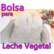Bolsa Para Leche Vegetal Malla Nut Milk Bag Soya Almendra