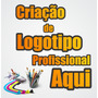 Criação De Logomarca Logo Logotipo Profissional Criar Arte