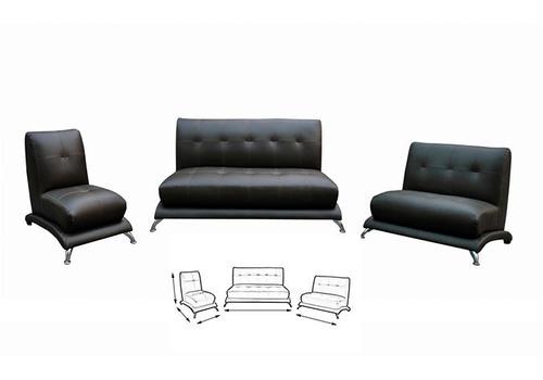 Salas 3 piezas nuevas modernas minimalistas baratas for Salas minimalistas modernas