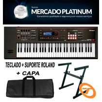 Teclado Roland Xps-30 + Fonte + Suporte + Capa Frete Grátis