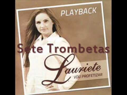 cd lauriete vou profetizar voz e playback