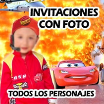 Invitaciones De Cumpleaños Infantiles Fotomontaje
