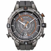 Relógio Timex T49860wkl/tn Bússola/termômetro/tábua De Maré