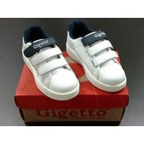 Zapatos Deportivos Colegiales Escolares Gigetto Originales