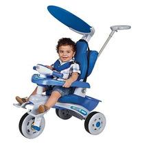 Carrinho Passeio Inf Criança Bebê Protetor Empurrador Fit St