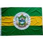Bandeira Oficial Bordada Municipio Aquiraz Ceará Brasil