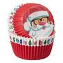 Forma Mini Cupcake Natal 100un Wilton - Chef Mania
