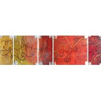 Cuadro Abstracto Decorativo, Arte, Moderno, Oleo Sobre Tela