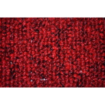 Alfombra Boucle Alto Transito Base Doble Roja Rojo Hay Stock
