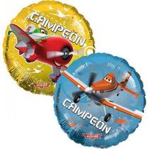 Globos Metalizados Aviones, Mickey, Elmo, Toy S. De 9 Pulg.