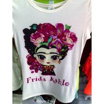 Mayoreo Blusas Moda Frida Dama Campesinas Fiestas Patrias