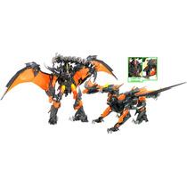 Transformers Best Hunters - Beast Fire Predaking Hasbro Novo