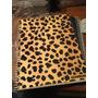 Cuaderno Universitario Leopardo Animal Print Cuadric. 80 Hoj