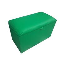 Puff Bau Multiuso Tamanho Grande - Cor Verde