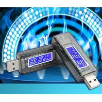 Detector Medidor Energia Voltímetro Amperímetro Tester Usb S