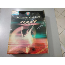 Jogo Pc Tênis Roland Garros Paris 1998 Box E Lacrado -raro