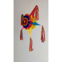 Piñata Estrella Navideña Mediana Multicolor