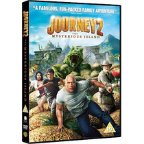 Viaje A La Isla Misteriosa 2 / Dvd Nuevo / Josh Hutcherson