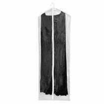 Capa Para Vestido Com Ziper 1,20x58 Protetora 100% Pvc