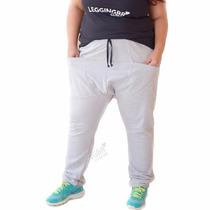 Calça Saruel Skinny Moletom Tamanhos Plus Size Especiais