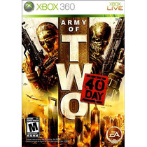 Army Of Two: The 40th Day - Xbox 360 | Lacrado | Original