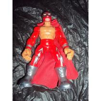 Figura Luchador Mexicano Volador Jr En Muñeco Patones Lucha