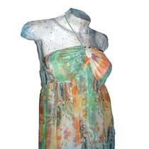 Solero Vestido Largo Floreado