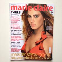 Revista Marie Claire Carolina Dieckmann Ano 2004