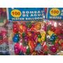 Bombitas Bombas Globos Carnaval Paq 100 Uni Oferta Remate