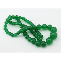Jade Verde Esmeralda Bolas Esferas Degradê Teostone 1800