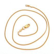 Cadena Oro Laminado 10k 19.5 Pulg X 1mm 2.2 Gramos