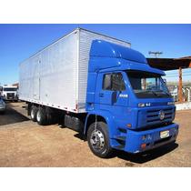 Caminhao Vw 23210 Truck 6x2 Ano 2003 Bau De 9mts Impecavel