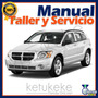 Manual De Taller Y Reparacion Dodge Caliber 2007-2012 Ingles