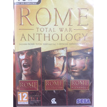 Rome Total War Anthology Dvd Rom Ingles Steam Disco Fisico