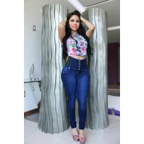 Jeans Modelos Colombianos Fajeros De 4 Botones 99.90 !!