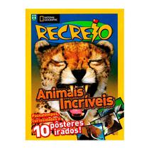 Livro Recreio Animais Incríveis National Geographic