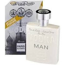 Perfume Vodka Man 100ml Paris Elysees - Similar 212 Vip Men