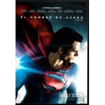 Man Of Steel El Hombre De Acero Superman Dvd + Copia Digital