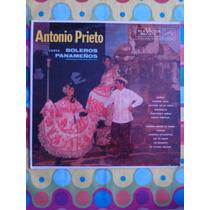 Antonio Prieto Lp Boleros Panameños