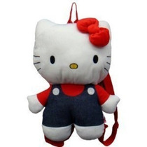 Mochila Hello Kitty 15 \plush Backpack - Jean Trajes