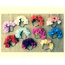 Vinchas Flores Coronas - Cotillón Fiestas Eventos Casamiento